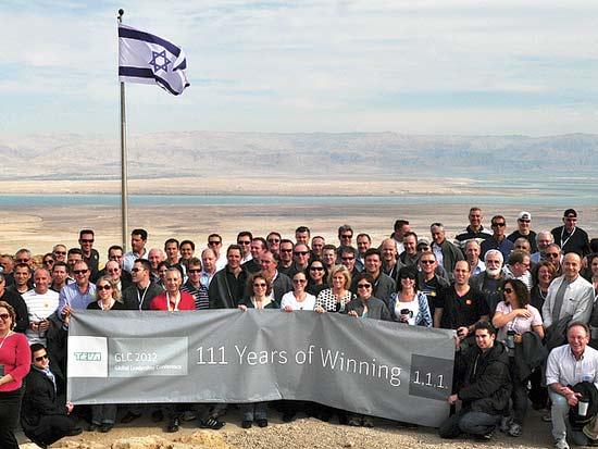 טבע חוגגת 111 שנות להקמתה על פסגת המצדה / צילום: עירית עשת מור