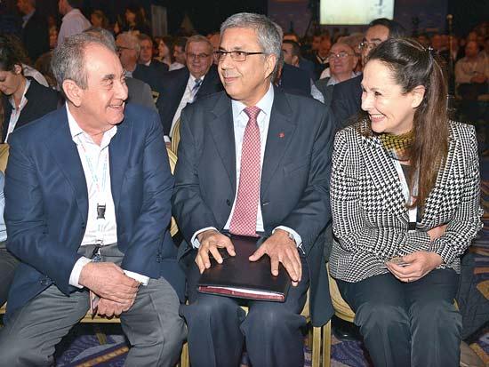 אמיר ובני איל, ועידת ישראל לעסקים 2012 / צילום: תמר מצפי