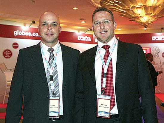 אירית איזקסון, ציון קינן, אלפרד אקירוב, ועידת ישראל לעסקים 2012 / צילום: תמר מצפי