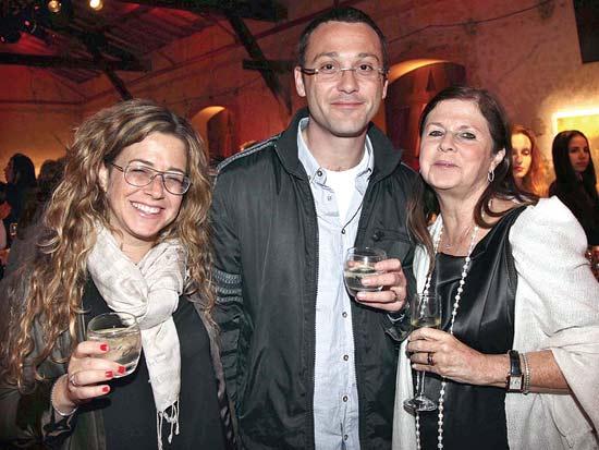 דליה רבין, אלדד ונועה רוטמן, הוועידה הראשונה לאומנות אספנות ופיננסים / צילום: סיון פרג'