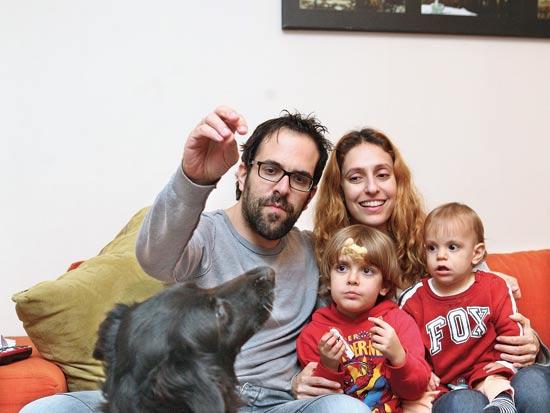 משפחת דרור / צילום: עינת לברון