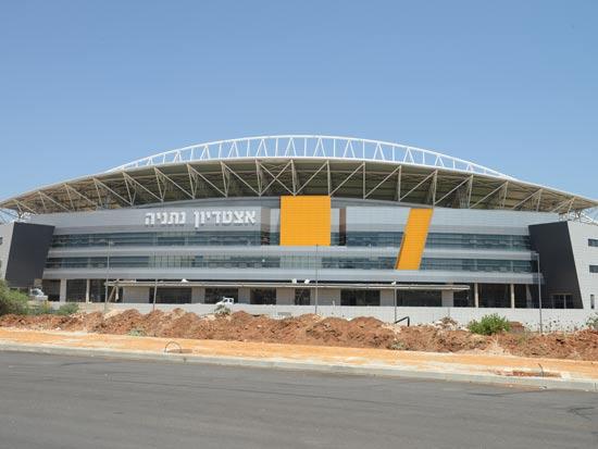 האצטדיון החדש בנתניה / צלם: תמר מצפי