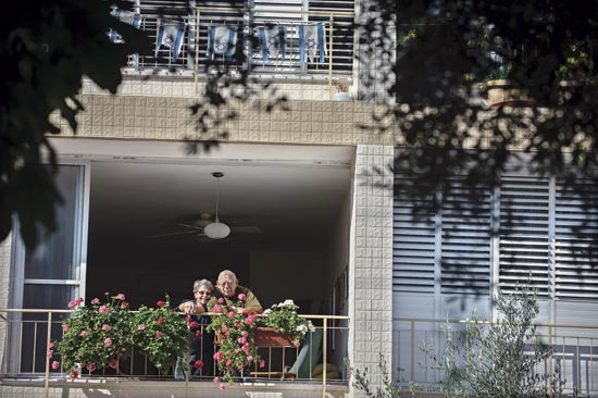 ג'קלין ויעקב רוטשילד / צילום: אדוארד קפרוב