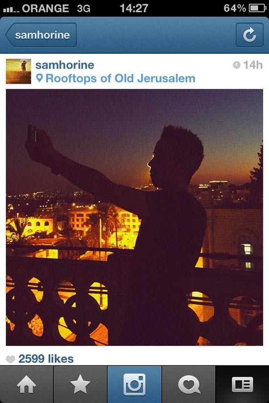 אינסטגרם ישראל / צילום: סמואל הורין