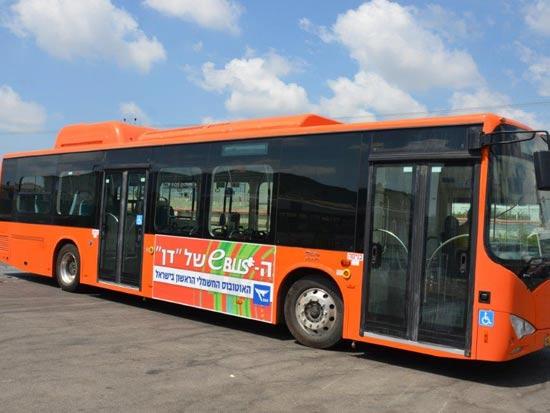 אוטובוס חשמלי של חברת דן / צילום: יחצ
