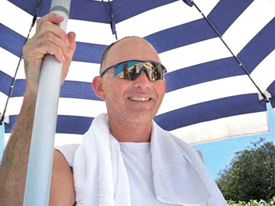 דב קליין, שחיינים אנשי עסקים / צילום: תמונה פרטית