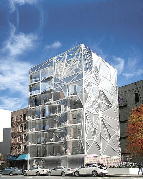 בנין בעיצובו של קארים ראשיד / צילום: יחצ