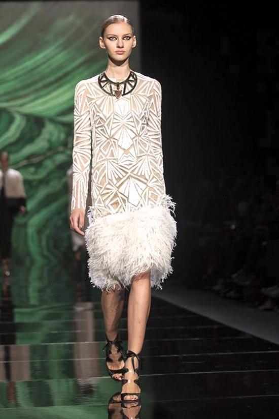 מתוך תצוגת האופנה של מוניק לולייה / צילום: יחצ