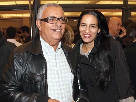 איילת וצביקה ימיני, ערב התרמה של המרכז לחקר הסרטן / צילום: יחצ