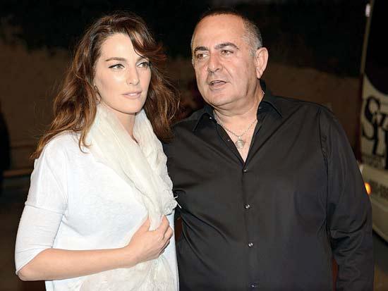 דוד גולברי, איילת זורר, תצוגת אופנה של גולברי באמפי קיסריה / צילום: אסף לב