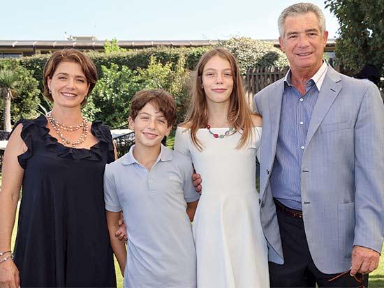 עמי, ענבר, תומר ומיכל פדרמן, בת ובר מצווה לילדים / צילום: סיון פרג'