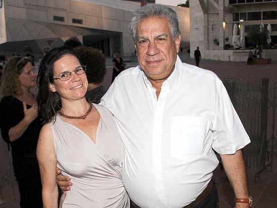 רפי מהודר ובת זוגו, ביקור בית האופרה בולשוי / צילום: יוסי כהן