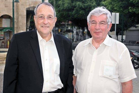 דוד ליבאי ואלי זוהר / צילום: יעל צור