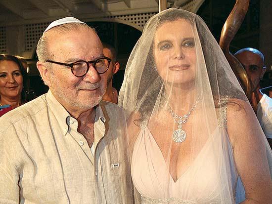 לאה ויורם גלובוס, חתונה שנייה וימי הולדת / צילום: סיון פרג'