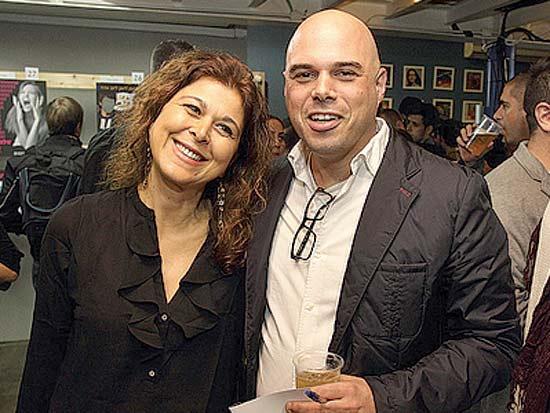 אדם אבנון, ורד בטש, שבע שנים לערוץ הוט בידור ישראלי / צילום: אלון קפון