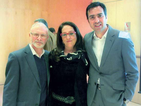 ברי גרוסמן, אניטה לבינט, אלן גמל, לשכת המסחר ישראל בריטניה / צילום: פ.ר.ם יח