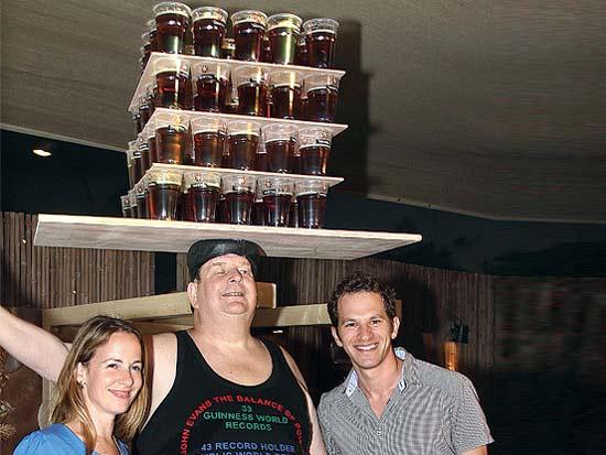 יובל גורן, ג'ון אוונס, סיון נוי בייטנר, 20 שנות פסטיבל גולדסטאר / צילום: קוקו