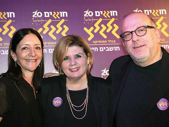 ירון דקל, אורנה ברביבאי ודלית עופר / צילום: סיון פרג'