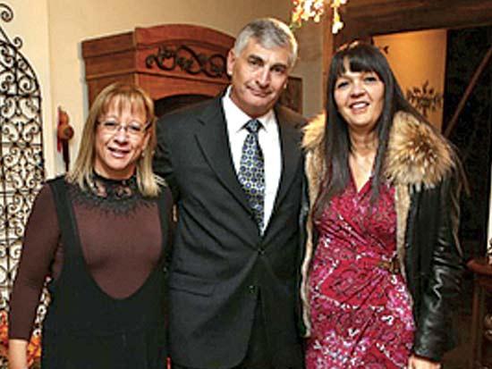 ציפי ויגאל לנדאו, ליאת בן דוד, ערב פרידה מחברי קרן וולף / צילום: יחצ