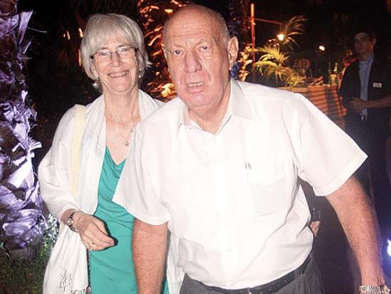 דב ולואיז ויסגלס, חתונת רן פורר ואודליה אשל / צילום: רוני שיצר