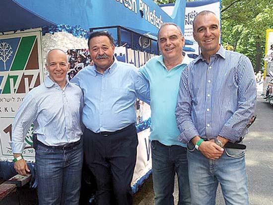 ארז חלפון, אברם גרנט, אלי אפללו, טוני גלברט, הצדעה שנתית לארגונים היהודים בארה