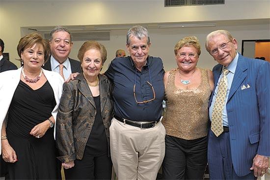הזוג מאן, צ'חנובר, כהן, קרבס וברק / צילום: מורן וייסמן