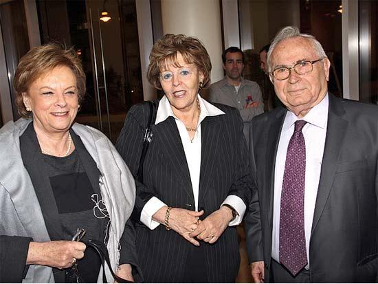 תיאודור אור, עדנה ארבל, דורית בייניש, השקת הספר
