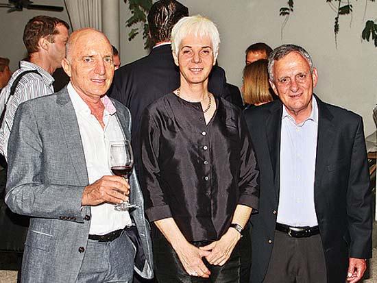 בני זאבי, רותי אלון, מייקל היידן, כנס הביומד הבינלאומי / צילום: אלון רון