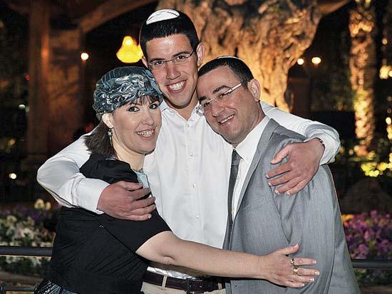 דדי רואי ואורית ויזל, חתונת רואי ריזל עם עדי לוי / צילום: איציק בירן