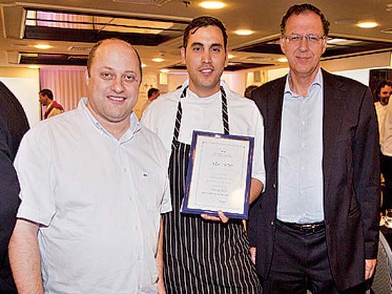 ז'ק בר, חביב משה, אמיר ברונשטיין, גמר גביע הבישול של סן פלגרינו / צילום: לם וליץ סטודיו