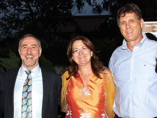 שלומי קוארטלר, דנה עזריאלי, דני חכים, ארוע התרמה של עמותת Budo for Peace / צילום: אלדד מאסטרו