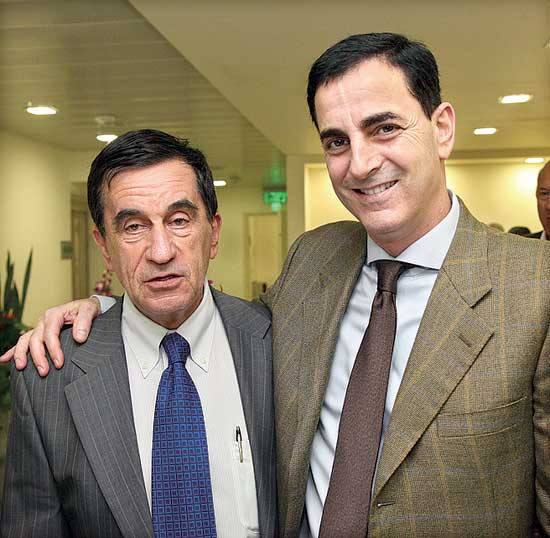 חיים הורביץ דן זיסקינד / צילום: סיון פרג'
