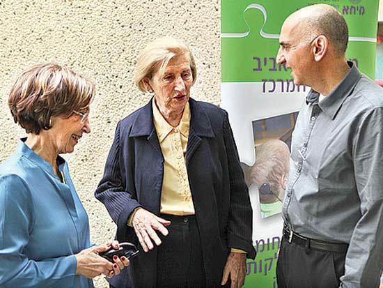 בועז הרמן, ראומה ויצמן, ורה קורן שפיר, 60 שנה לעמותת מיחא ת