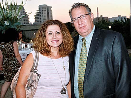 חיים כהן, אסתר אלדן, אירוע ההתרמה השנתי של ארגון ויצו / צילום: פז בר