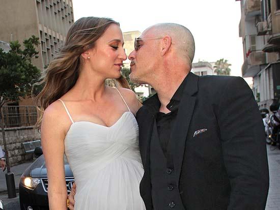 החתן והכלה, חתונת ארנון פרלמן ואליענה בקייר / צילום: יוסי כהן