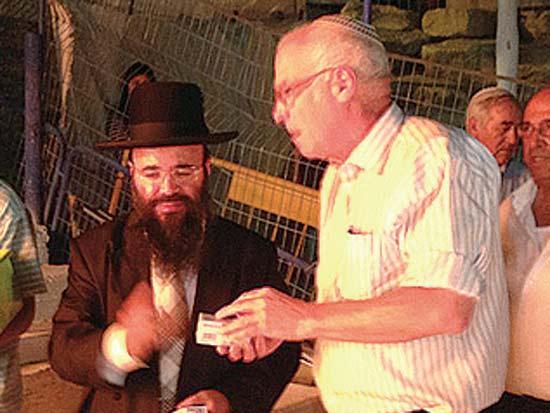 אורי אוריאל, יעקב ישראל איפרגן, הסעודה השנתית לזכרו של הרב שלום איפרגן / צילום: יחצ