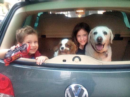 אנשי עסקים וכלבם, משפחת להט / צילום: תמונה פרטית