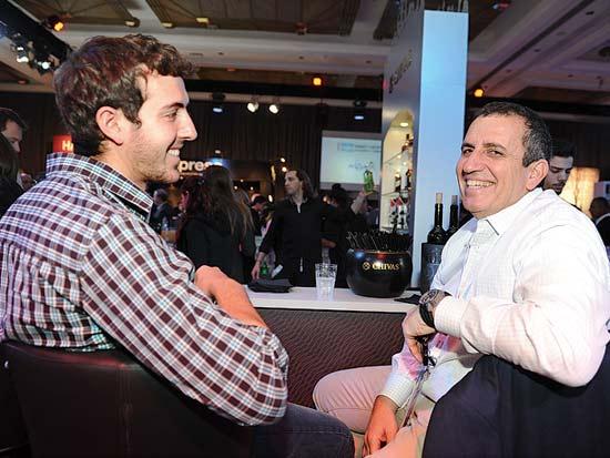 איל וגיא ולדמן, ועידת ישראל לעסקים 2013 / צילום: תמר מצפי