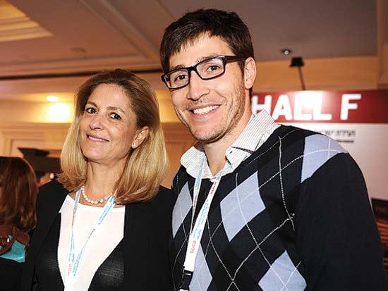 רון ואתי רוטר, ועידת ישראל לעסקים 2013 / צילום: תמר מצפי