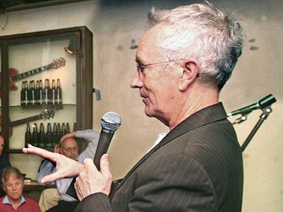 סטיב קין, ועידת ישראל לעסקים 2013 / צילום: רוני שיצר