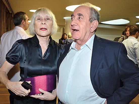 אלפרד וחוה אקירוב, אירוע ההשקה של קרן אקירוב / צילום: יחצ