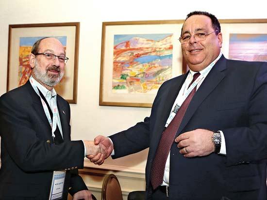 דורון כהן, הרדי פרידמן, ועידת ישראל לעסקים 2013 / צילום: קובי קנטור