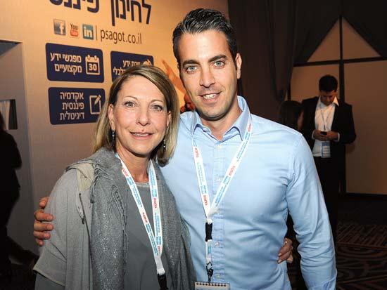 אוריאל ועליזה גורן, ועידת ישראל לעסקים 2013 / צילום: איל יצהר