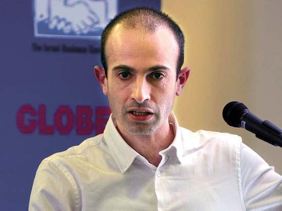 יובל נח הררי, ועידת ישראל לעסקים 2013 / צילום: אוריה תדמור