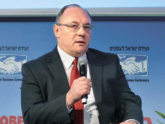 ליאו ליידרמן, ועידת ישראל לעסקים 2013 / צילום: תמר מצפי