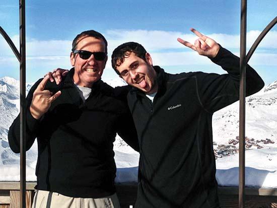 איל וולדמן, חופשת סקי / צילום: תמונה פרטית