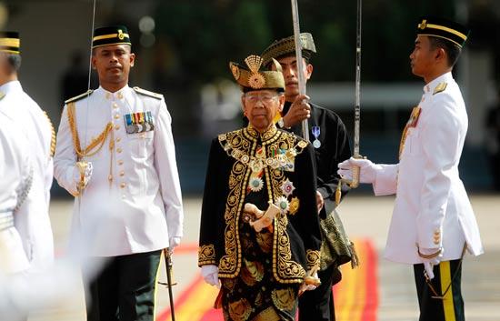 מנהיגים מבוגרים - מלך מלזיה עאבדול חלים / צילום: רויטרס
