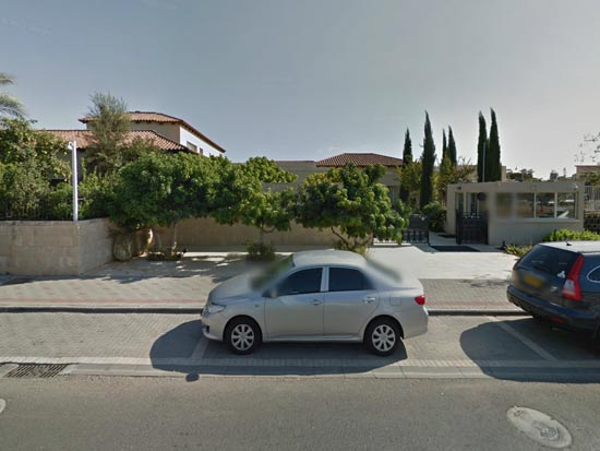 הווילה של מוטי זיסר / צילום: google street view