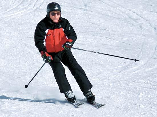 אלי פפושדו, חופשת סקי / צילום: תמונה פרטית