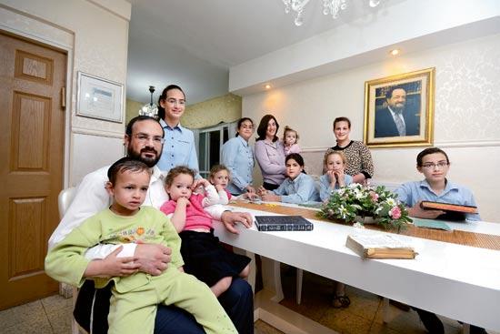 משפחת רביץ / צילום: איל יצהר